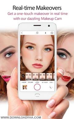 YouCam Makeup- Makeover Studio 4.15.1 - نرم افزار آرایش مجازی چهره برای اندروید