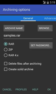 RAR for Android Premium 5.30 build 39 - فشرده ساز اندروید