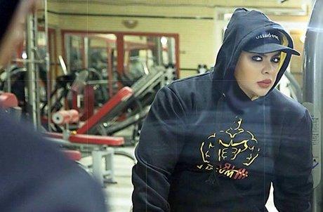 دختر بدنساز ایرانی