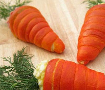 طرز تهیه سالاد الویه به شکل هویج