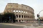عکس های دیده نشده حسن روحانی در میدان گلادیاتورهای ایتالیا
