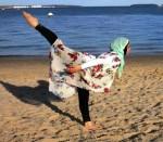اولین رقاص باله با حجاب + عکس