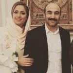 عکس داغ محسن تنابنده در کنار همسرش
