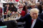 عکس یادگاری دونالد ترامپ با مایکل جکسون