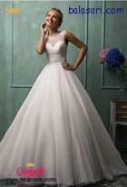 لباس عروس پفی برای عروس های لاغر اندام یکی از ایده ال ترین مدل هاست .