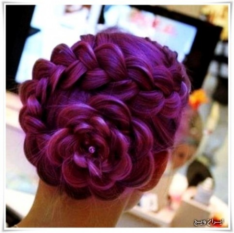 رنگ موی فانتزی (1)