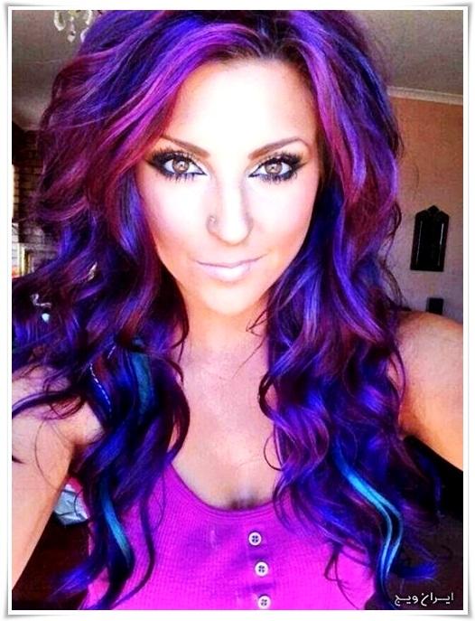 رنگ موی فانتزی (10)