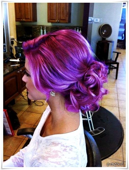 رنگ موی فانتزی (11)