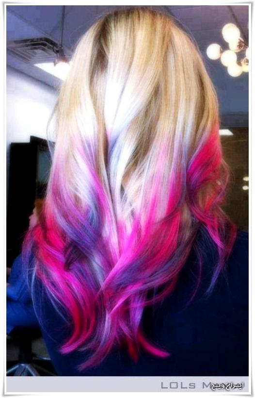 رنگ موی فانتزی (12)