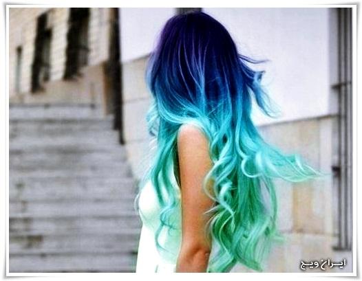 رنگ موی فانتزی (2)