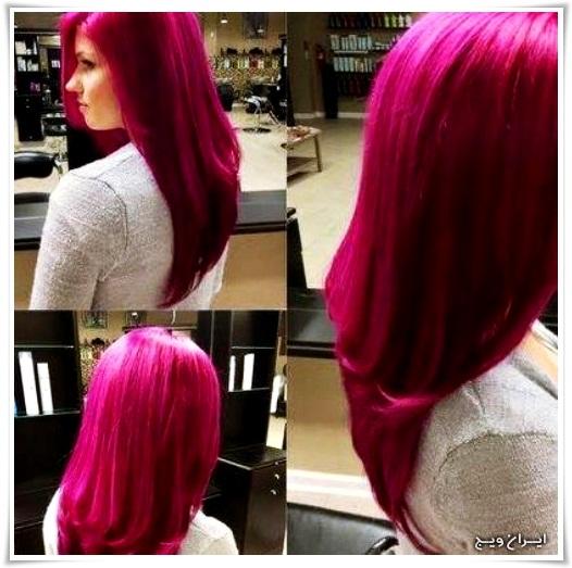 رنگ موی فانتزی (4)