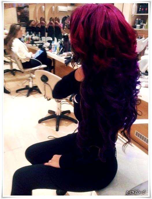 رنگ موی فانتزی (5)