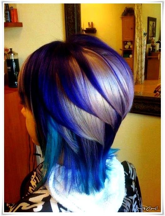رنگ موی فانتزی (7)