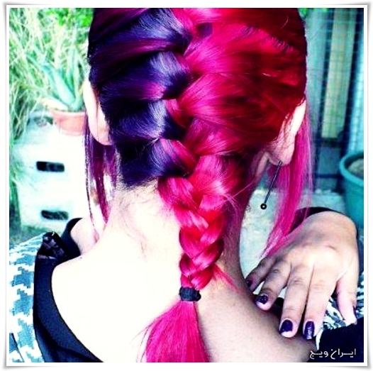 رنگ موی فانتزی (8)
