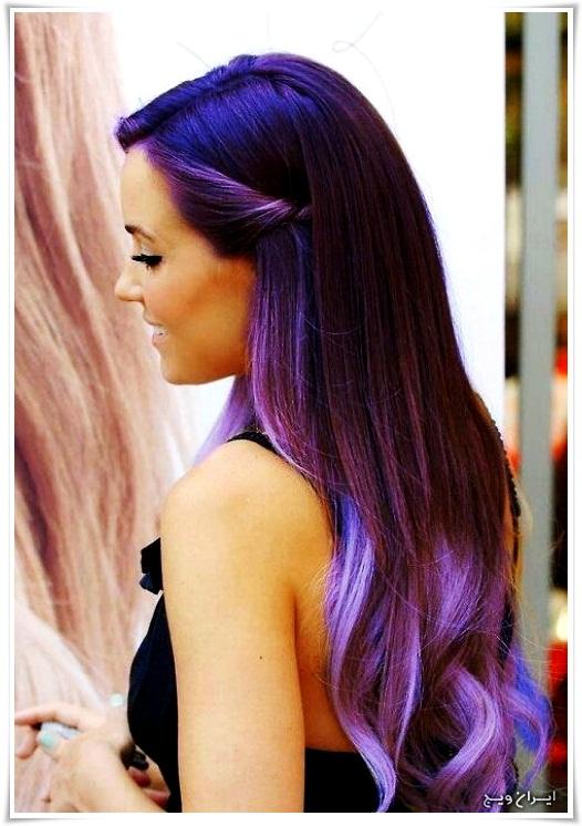 رنگ موی فانتزی (9)