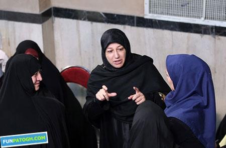 محمدجواد ظریف و همسرش پای صندوق رای