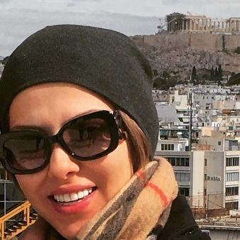 لیلا اوتادی در آتن