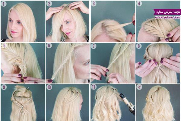 مدل بافت مو، بافت تیغ ماهی، بافت موی کوتاه، انواع بافت مو، مدل موی کوتاه