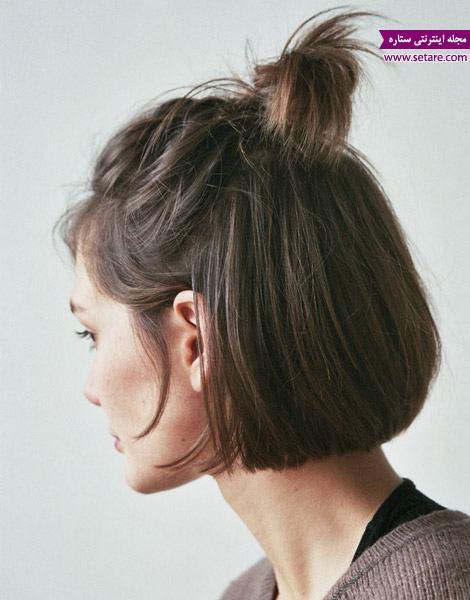 مدل موی کوتاه، موی بافته، بافت مو، مدل دم اسبی، موی کوتاه دخترانه، انواع بافت