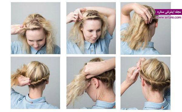 مدل موی کوتاه، موی کوتاه، مدل موی دخترانه، بافت مو، انواع مدل بافت