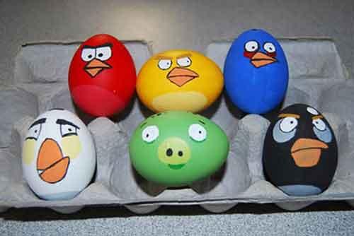 تزئین تخم مرغ هفت سین - ایده هایی برای تخم مرغ سفره هفت سین - مدل تخم مرغ هفت سین 95