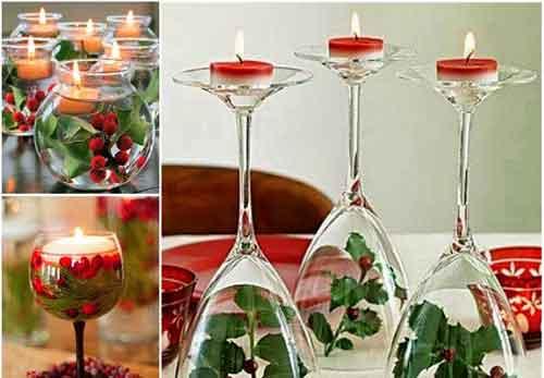 تزئین شمع برای سفره هفت سین - شمع آرایی - شمع هفت سین