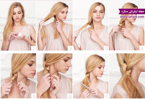 مدل بافت مو، مدل مو بافت، عکس بافت مو، انواع بافت مو