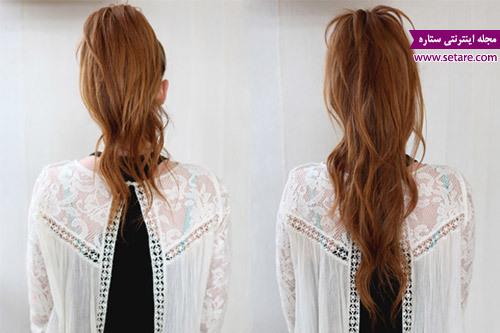 مدل مو بافت، عکس بافت مو، انواع بافت مو، مدل مو جدید، شینیون مو