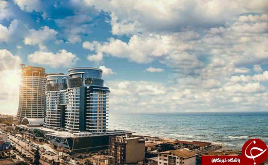 ساخت هتل های لوکس خارجی در سواحل خزر +تصاویر
