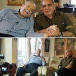 پرویز پرستویی در منزل محمدعلی کشاورز !+تصاویر