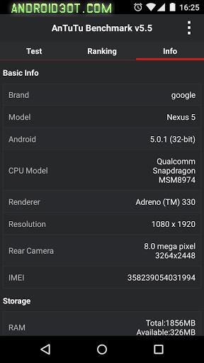 AnTuTu Benchmark - بنچمارک اندروید-Free Google Play