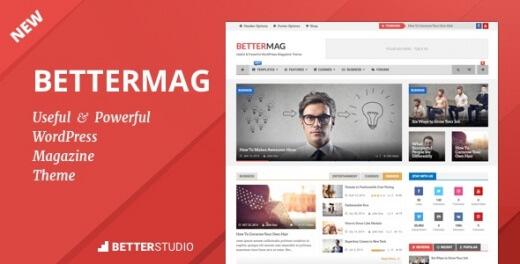 قالب مجله خبری وردپرس BetterMag نسخه 2.6.2