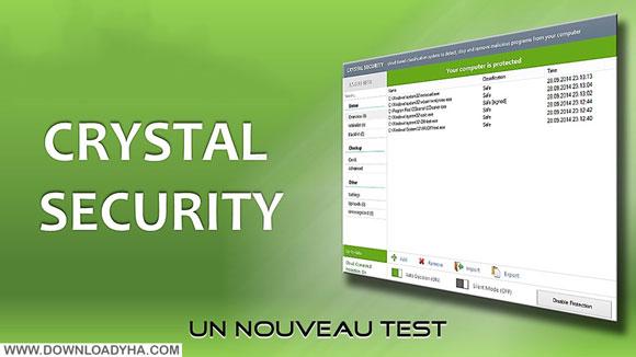 Crystal Security 3.5.0.159 - نرم افزار کریستال سکوریتی