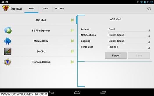 SuperSU Pro 2.66 - نرم افزار مدیریت دسترسی اندروید