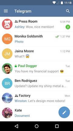 دانلود Telegram 3.7.0 - مسنجر تلگرام اندروید
