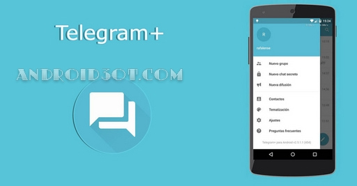 دانلود Telegram+ Plus 3.6.1.2 تلگرام پلاس جدید اندروید + تم ها