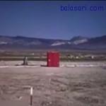 وقتی بمب اتم زیر زمین منفجر شود چه اتفاقی می افتد+ فیلم