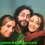 عکس های آذرخش فراهانی برادر گلشیفته فراهانی
