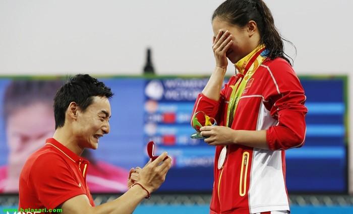 عاشقانه ترین لحظات المپیک 2016
