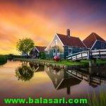 تصاویر دیدنی از طبیعت کشور هلند!