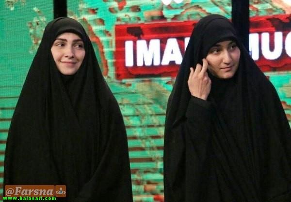 عکسهایی از دختران سردار سلیمانی
