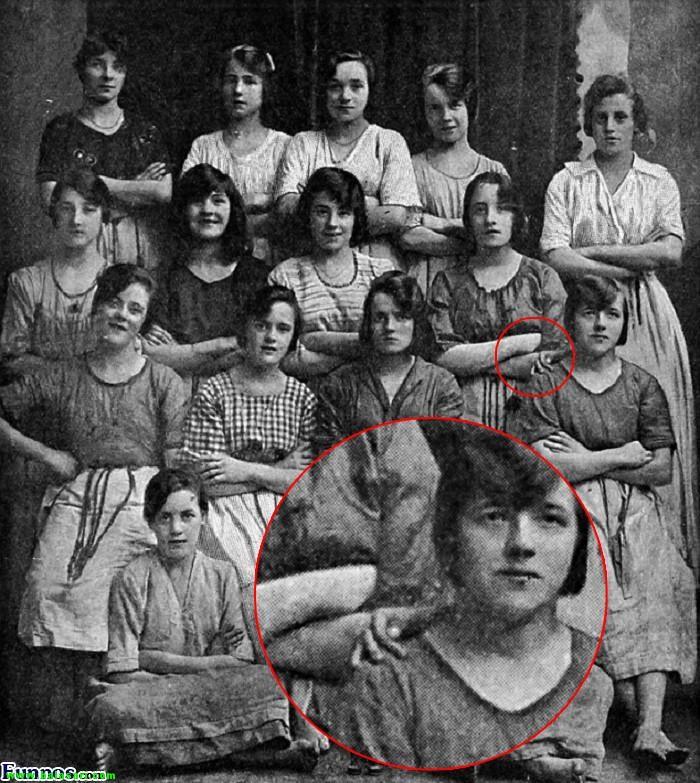رازخوفناک درعکسی که100سال قدمت دارد!