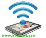 آموزش اتصال بی سیم تبلت به اینترنت