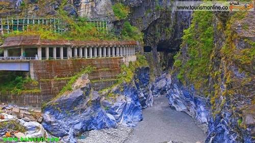 منظره ای دیدنی از کوه های مرمرین در تایوان (+عکس)