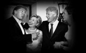 هیلاری کلینتون و ترامپ
