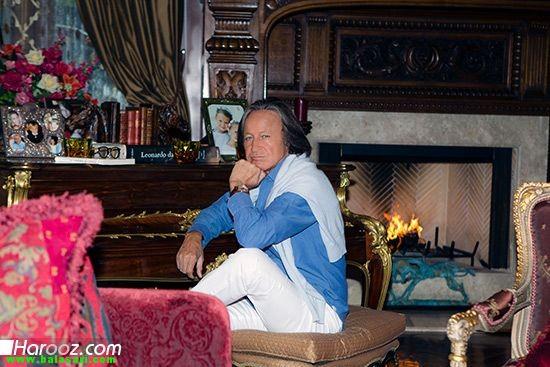 محمد حدید و همسر ایرانی اش