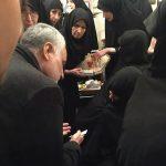 سردار سلیمانی به همسر آیت الله هاشمی تسلیت گفت+عکس