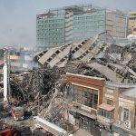 فیلم ها وعکسهایی از لحظه فرو ریزی ساختمان پلاسکو