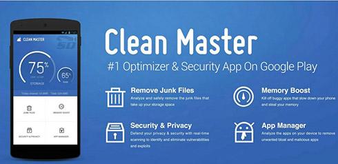 نرم افزار پاک سازی (برای اندروید) - Clean Master 5.15.5 Android