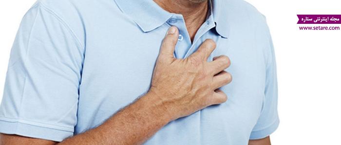علائم ضخیم شدن دیواره قلب - درد قفسه سینه